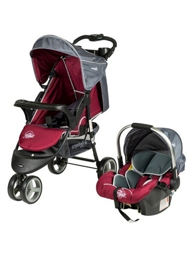 Crystal Baby Crystal Baby 208 Sport T/S Bebek Arabası Bordo